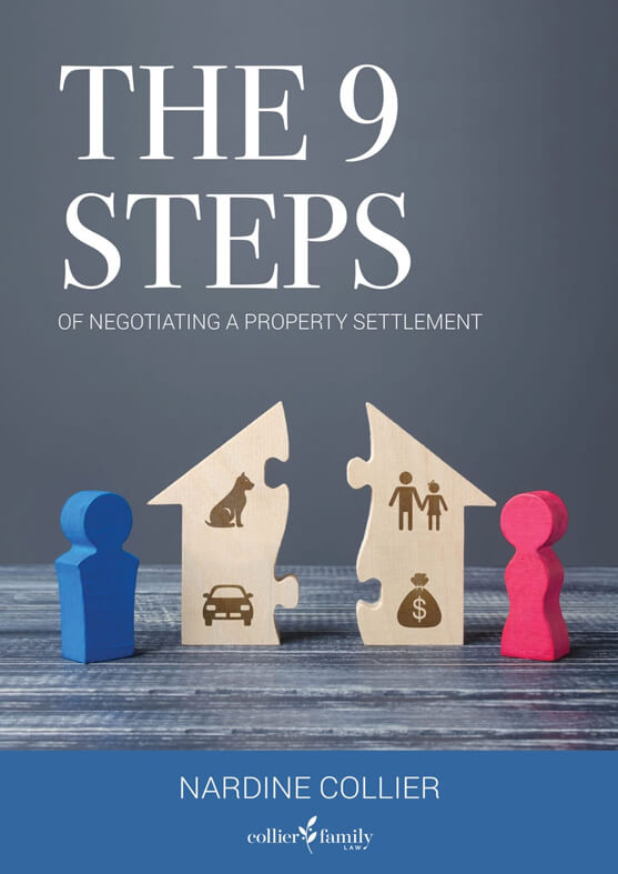 Collier Family Law Book Cover The 9 Steps SEP20